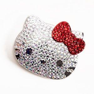Hello Kitty Ruby Compact Mirror 40th Anniversary